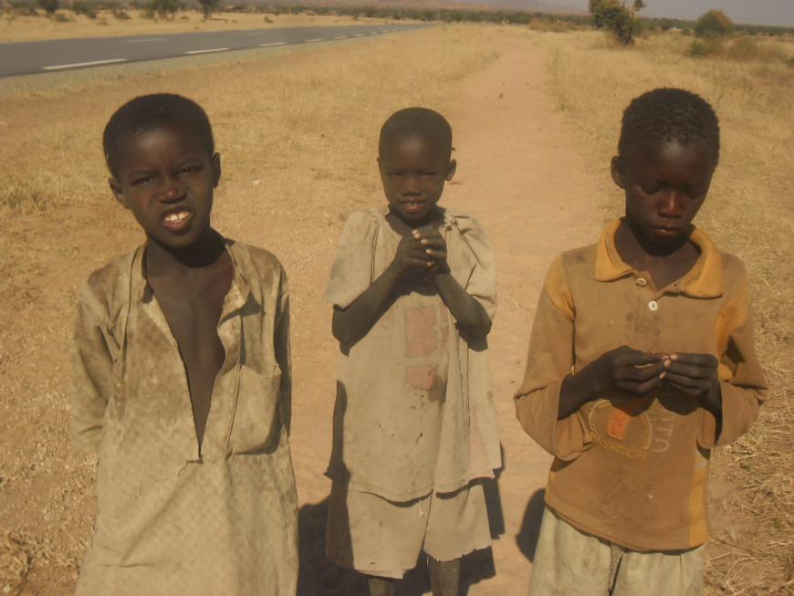 Des enfants à l'Est du Tchad. © Alwihda Info