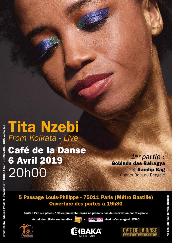 Une invitation au voyage : retour de la chanteuse Tita Nzebi au Café de la Danse le 6 avril