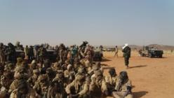 Des rebelles de l'UFR capturés par l'armée tchadienne au nord-est du pays. © Alwihda Info