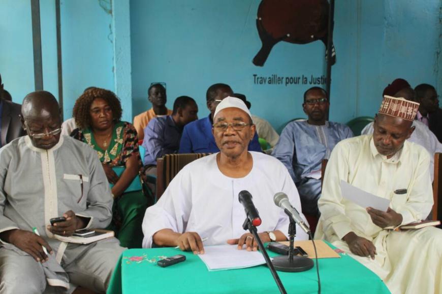 Le coordinateur du Front de l'Opposition Nouvelle pour l'Alternance et le Changement (FONAC), Mahamat Ahmat Alhabo. Alwihda Info