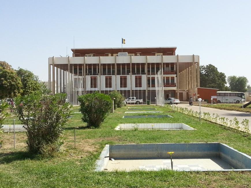 Le ministère des Affaires étrangères du Tchad, à N'Djamena. © DR