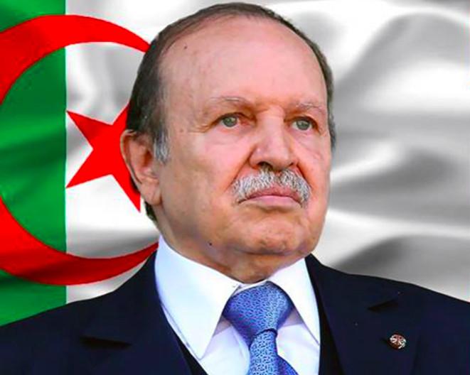 Abdelaziz Bouteflika, président de la République algérienne démocratique et populaire.
