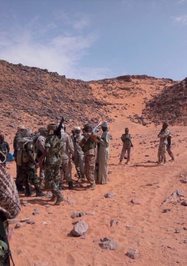 Des militaires tchadiens lors d'une opération au nord du Tchad. © Alwihda Info