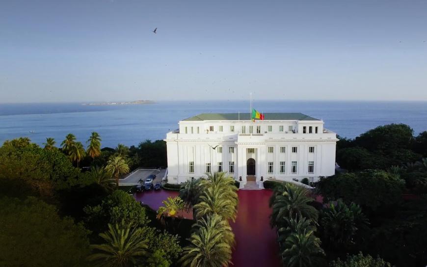Le Palais présidentiel sénégalais. © DR