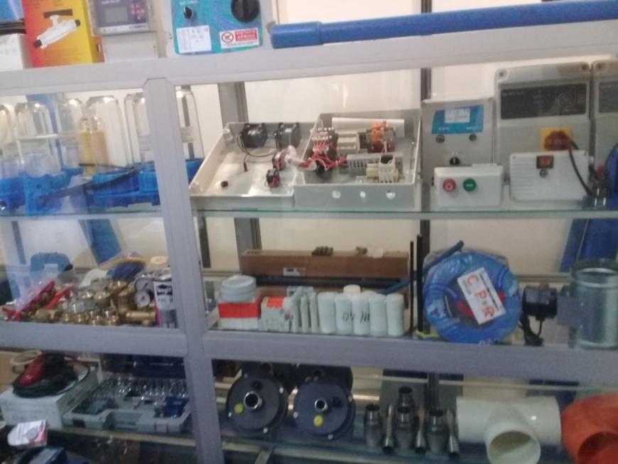 Une gamme variée d'équipements  pour relever l'offre en eau potable.