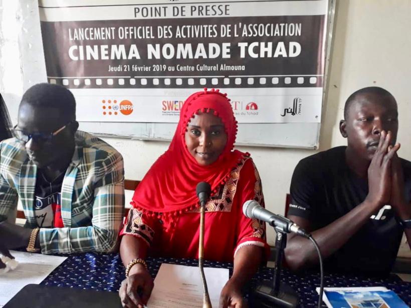 Tchad : un cinéma nomade lancé pour sensibiliser la population des zones reculées. © Alwihda Info