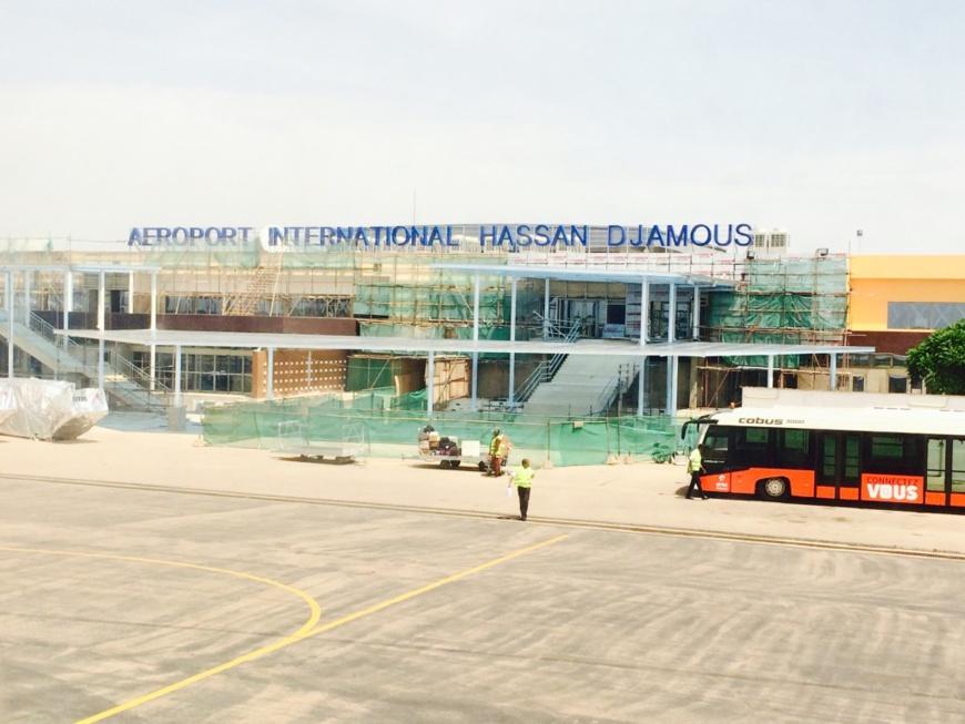 Tarmac de l'aéroport international Hassan Djamous de N'Djamena. © DR