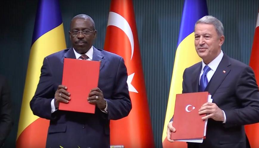Coopération militaire : Le Tchad et la Turquie signent un accord de coopération en matière de Défense. © DR