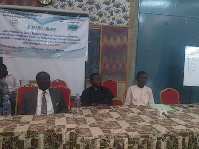 N'Djamena : les étudiants initient des formations sur la cohabitation