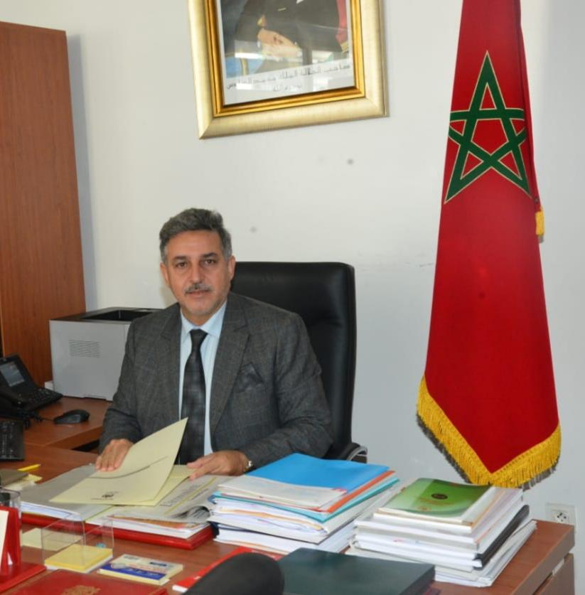 Khalid Cherkaoui Semmouni, écrivain et militant en droits de l'Homme.