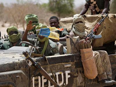 Illustration. Des rebelles au Tchad. © DR