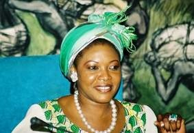 Mme Lucie Bongo Ondimba (Photo d'archives).