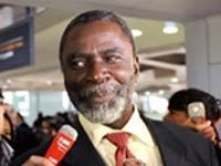 Yorongar au micro de RFI (Radio France International)