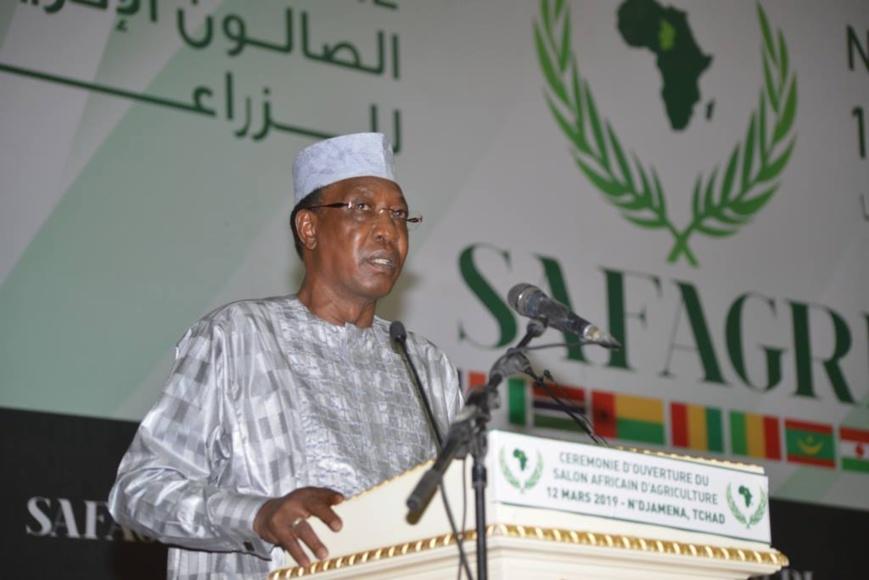 """Tchad : """"la pauvreté fertilise le terreau du terrorisme"""", Idriss Déby."""