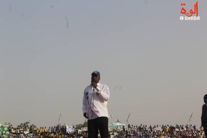 Le secrétaire général du Mouvement Patriotique du Salut (MPS), Mahamat Zene Bada. © Alwihda Info