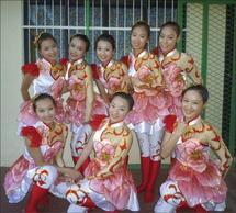La troupe de Shenzhen, en Chine.