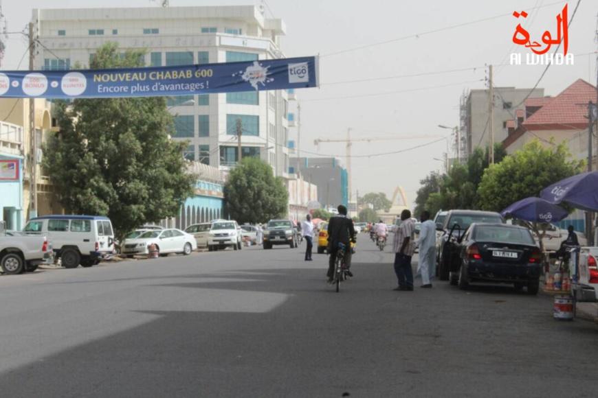 L'avenue Charle de Gaulle à N'Djamena. Illustration. ©Alwihda Info