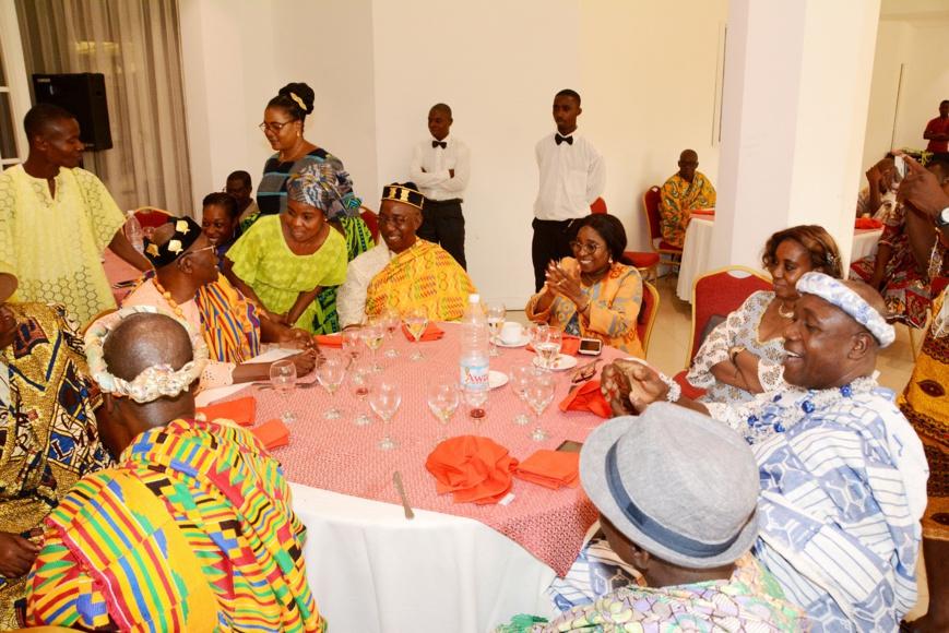 Côte d'Ivoire : Célébration des rapports excellents entre la SPDC et les chefs Atchans de Cocody