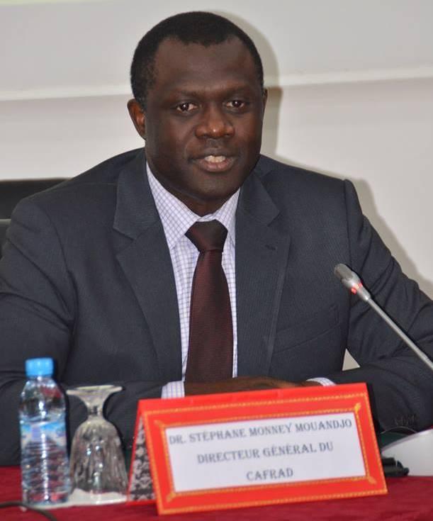 """Dr Stéphane Monney Mouandjo: """"Notre institution est d'abord chargée de l'accompagnement des administrations publiques""""."""