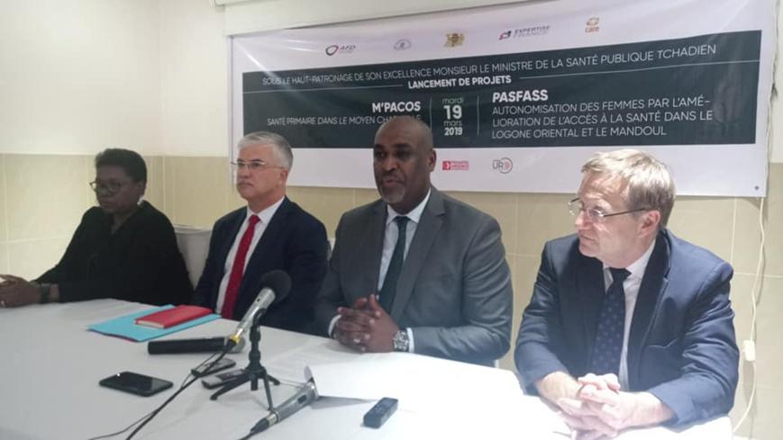Lancement ce lundi 18 mars de deux projets dans le secteur de la santé, financés par l'AFD. © DR/MSP