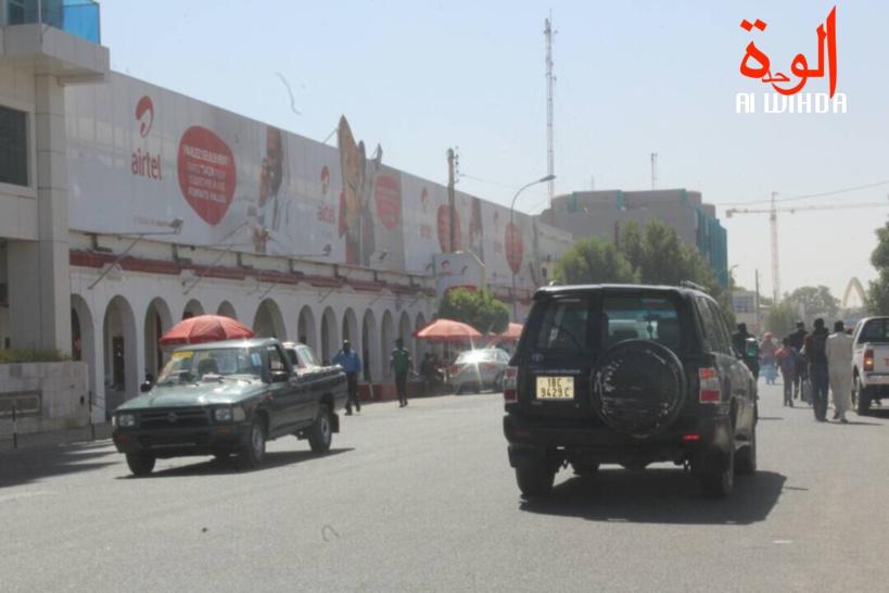L'avenue Charles de Gaulle à N'Djamena. © Alwihda Info
