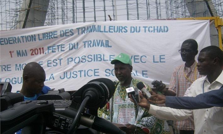 Le 1er Mai 2011, fête du travail, célébrée au Tchad à la place de la Nation. /Photo Alwihda.