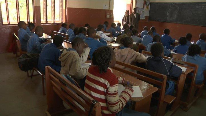 Une salle de classe au Tchad / Photo agence.