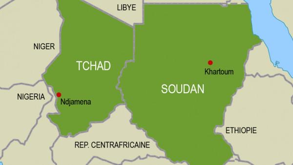 Frontière Tchad-Soudan. © DR