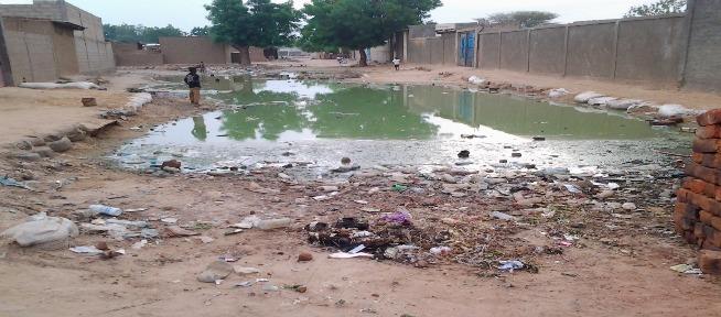L'insalubrité à N'Djamena, au Tchad. © Alwihda Info/archives