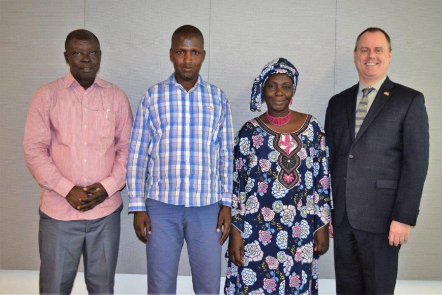 Des journalistes tchadiens renforcent leurs compétences en journalisme d'investigation. © Ambassade des États-Unis