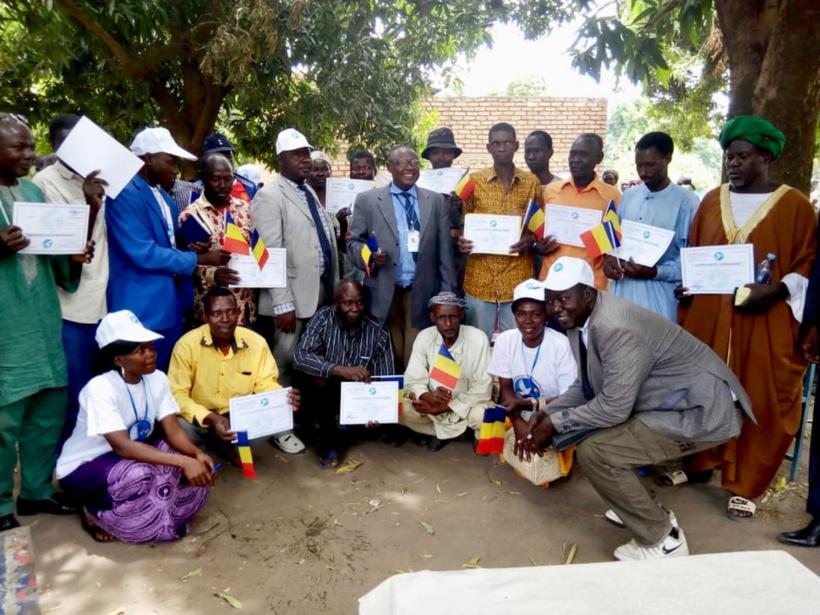 Tchad : renforcement de la cohabitation pacifique entre éleveurs et agriculteurs. © Alwihda Info