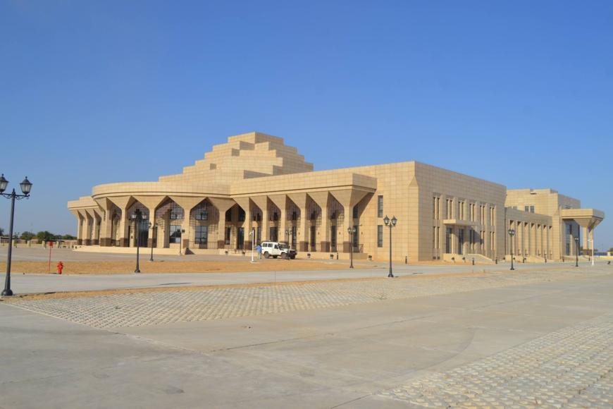 Le Palais de la démocratie au Tchad. ©DR