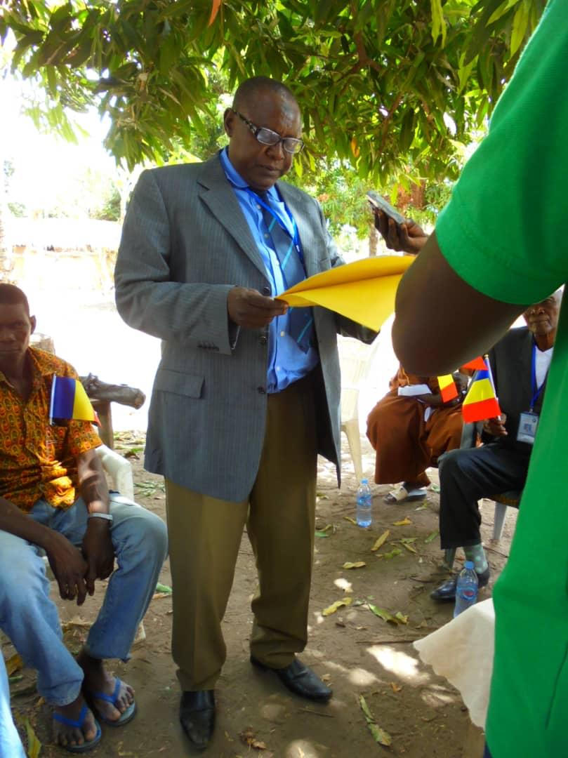 Moussa Alkhali Moussa, président du RAPCLO. © Alwihda Info