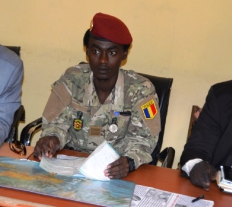 Le directeur général des douanes et droits indirects, Ousman Adam Dicki. © DR