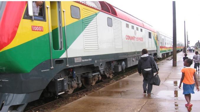 Un train en Guinée. © DR