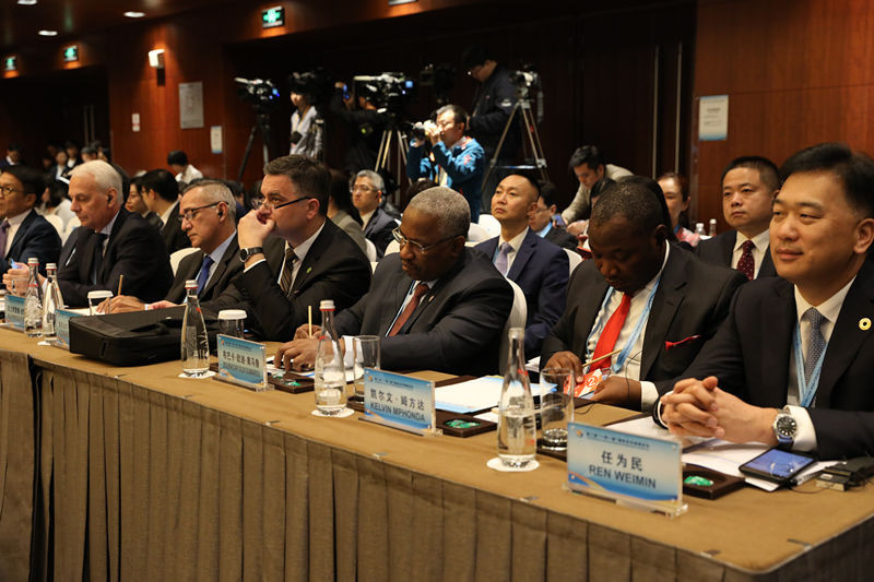 Representatives at the sub forums of the Second Belt and Road Forum for International Cooperation on April 25. (Photo by Han Xiaoming from People's Daily).