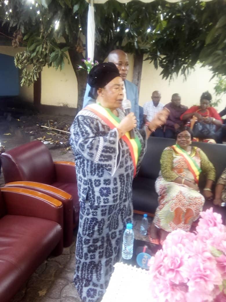 Antoinette Tiélé Gambia Ollou, l'élue de Djiri 1.