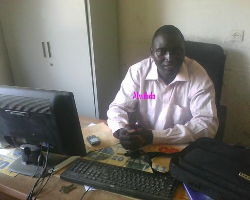 le secrétaire général de l'UNET, Mr. Hoytimadji Patrick