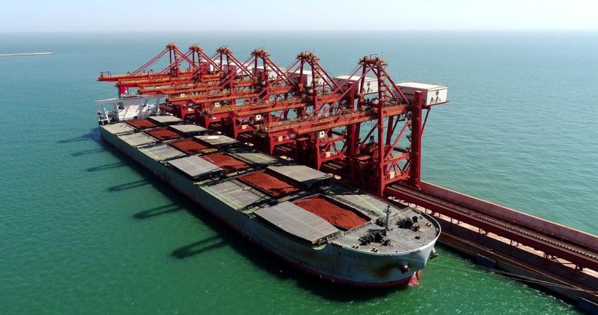 """Le navire """"Rigel"""", d'un tonnage de 300 000 tonnes. © DR"""