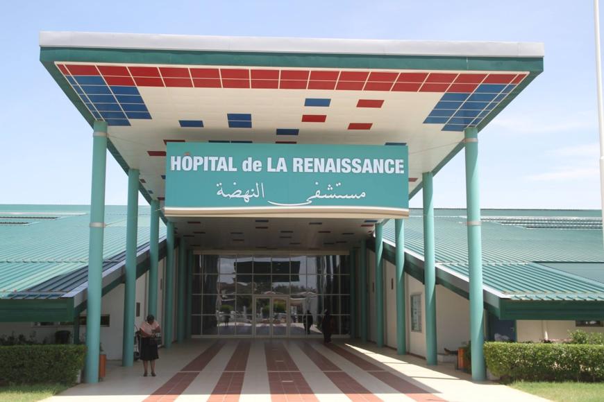 L'Hôpital de la Renaissance à N'Djamena. © DR