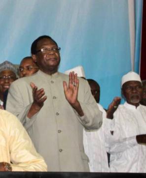 Le président du Viva-RNDP et ministre d'Etat, ministre conseiller à la Présidence de la République, Dr. Nouradine Delwa Kassiré Coumakoye. © Alwihda Info