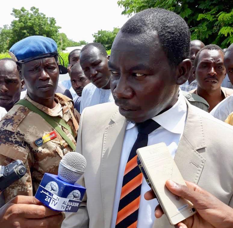 Le procureur de la République, Youssouf Tom. © Alwihda Info