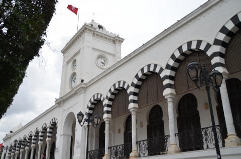Le ministère tunisien des Finances. © DR