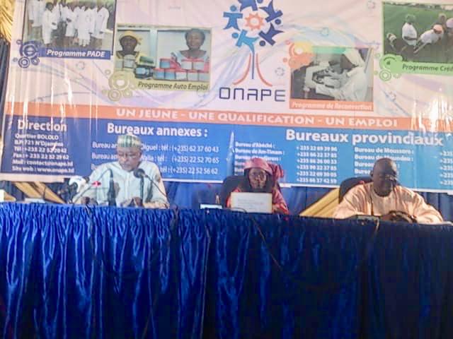 Tchad : lancement de la formation de 600 jeunes à N'Djamena. © Alwihda Info