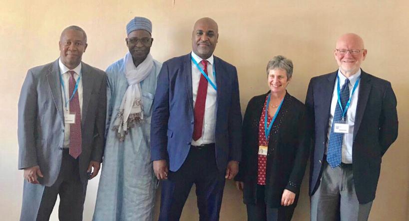 Genève : Le ministre tchadien de la Santé rencontre les Fondations Dangote et Gates. © MSP