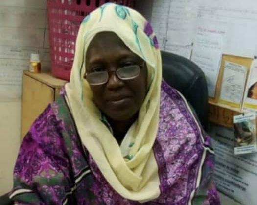 Fatimé Abdoulaye Djidda, agent de santé au Tchad. © MSP
