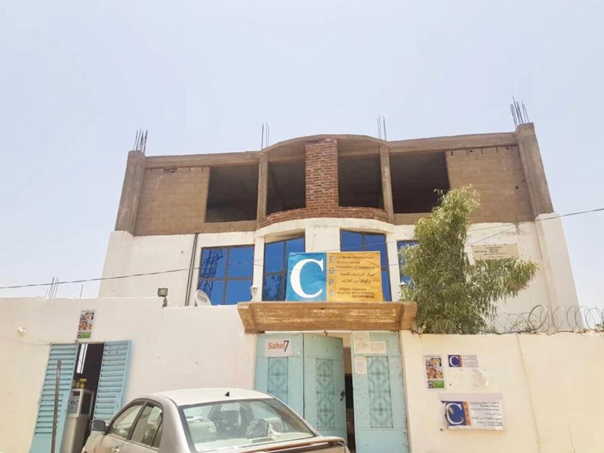 Le siège du CEDPE à N'Djamena. © Alwihda Info