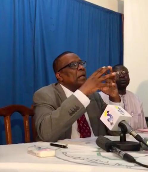 """Tchad : """"évitons de fragiliser la stabilité chèrement acquise"""", Abderaman Koullamallah."""