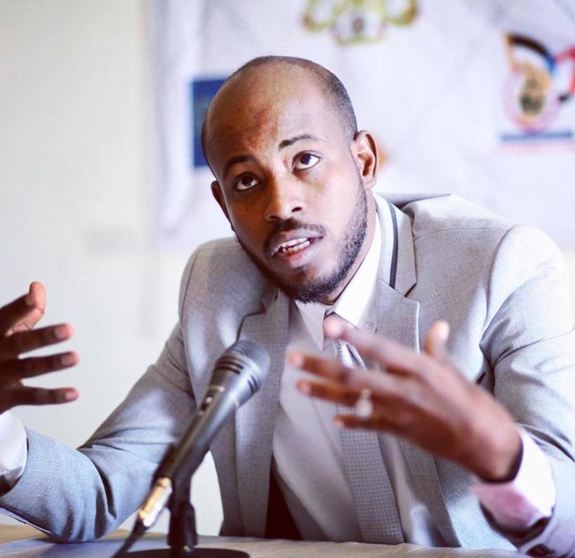 Le promoteur de l'évènement, Abbas Ousman.