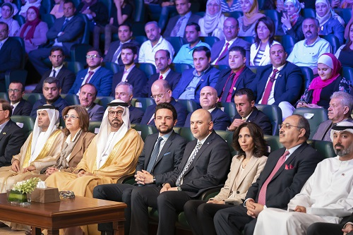 Launching of the One Million Jordanian Coders initiative under the patronage and in the presence of His Royal Highness Crown Prince Al Hussein bin Abdullah II and His Excellency Mohammed bin Abdullah Al Gergawi, Minister of Cabinet Affairs and the Future in UAE (Photo: AETOSWire).